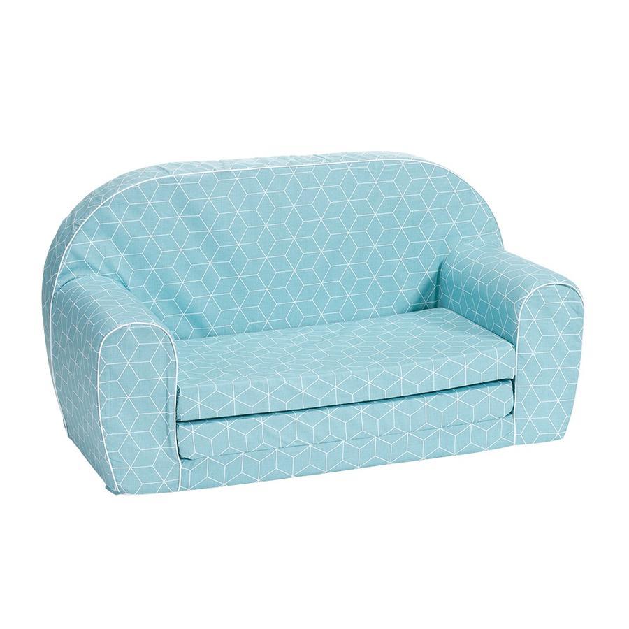 knorr® toyss sofa til børn - Geo terning neo mynte