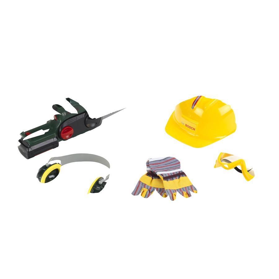 Theo klein BOSCH Motosierra de juguete con accesorios