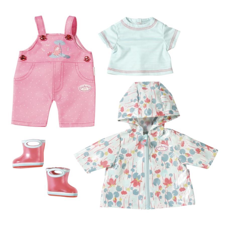 Zapf Creation Baby Annabell® Vêtement pour poupée de pluie Deluxe, 43 cm