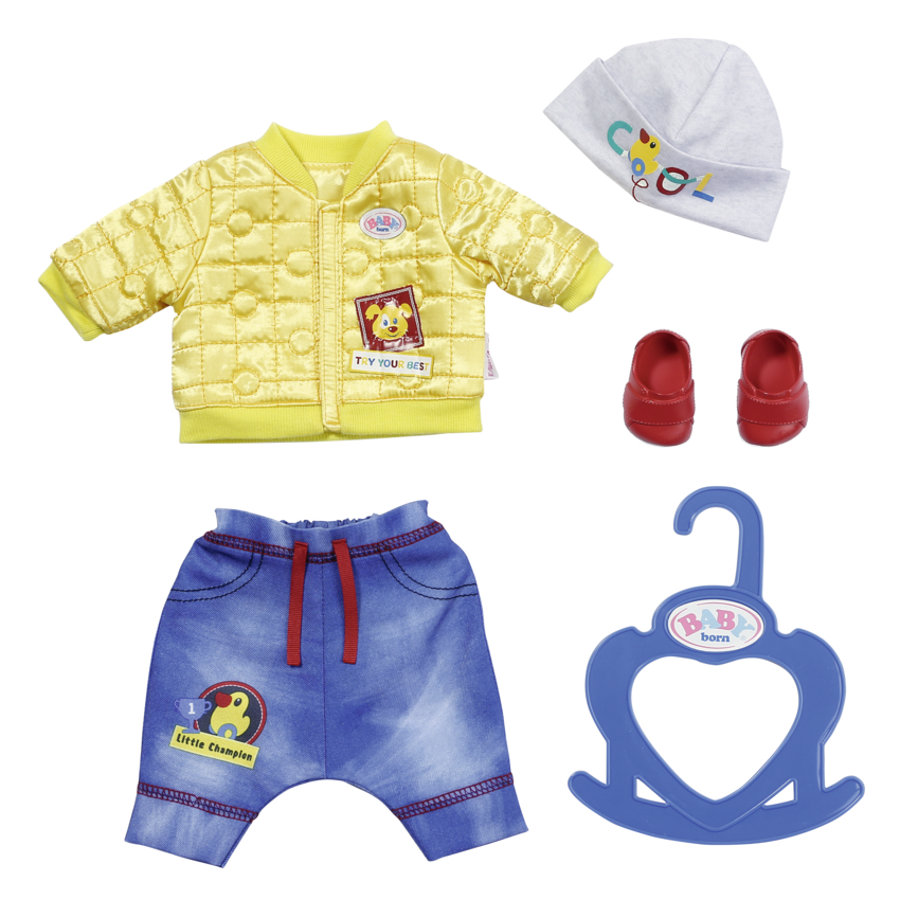 Zapf Creation BABY born® Little Cool Kids Outfit, 36 cm