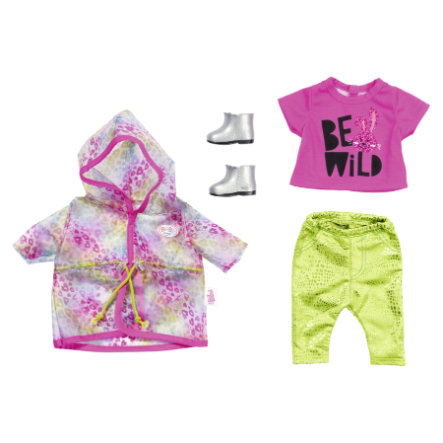 Zapf Creation BABY born® Deluxe trendy regenboog Set