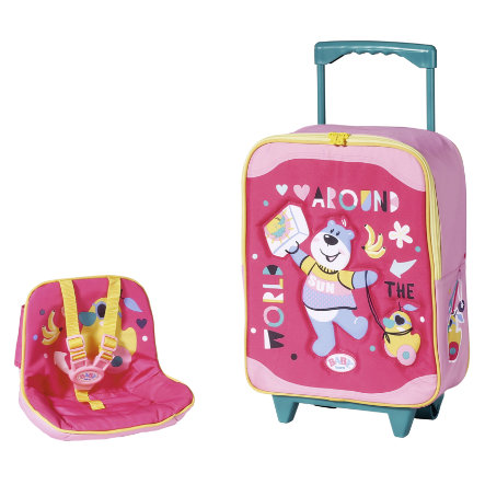 Zapf Creation BABY born® Holiday Trolley with doll sete