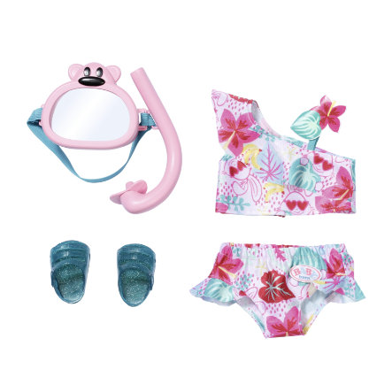 Zapf Creation BABY born® Holiday Deluxe Strój kąpielowy dla lalki, 43 cm