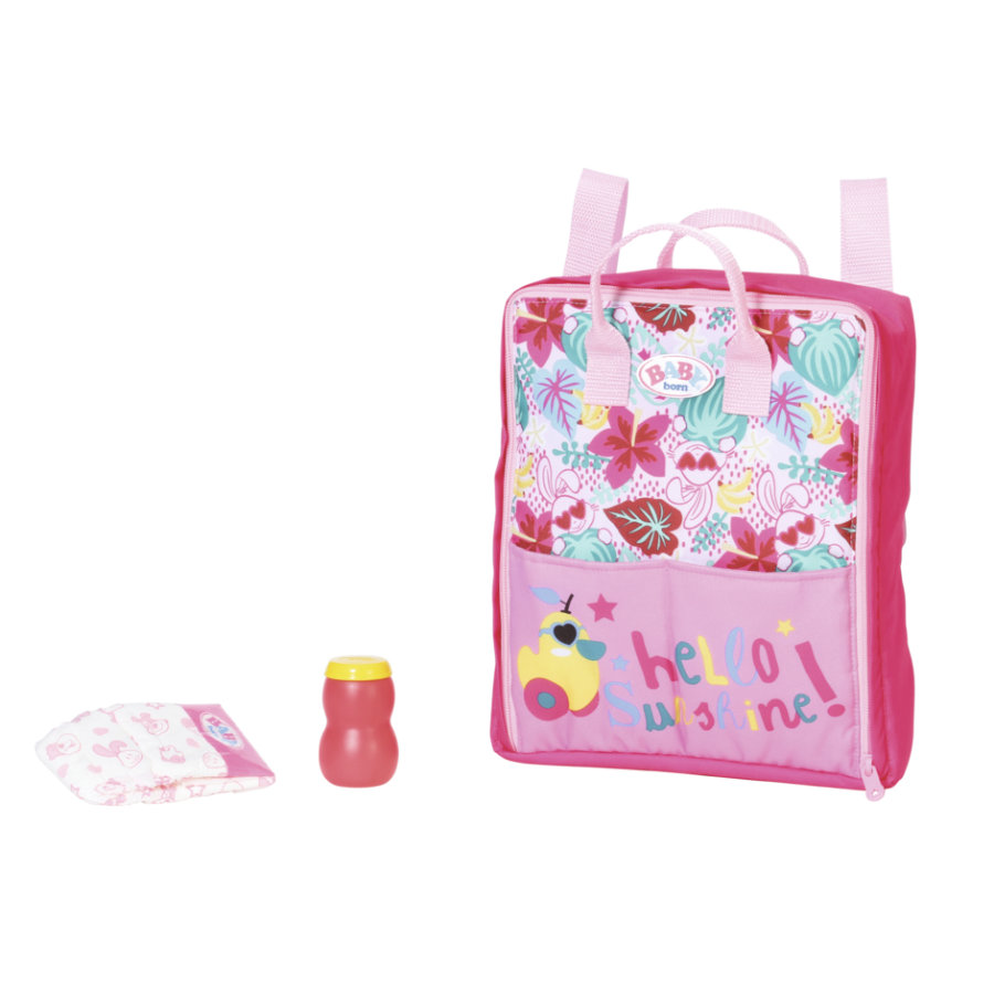 Zapf Creation BABY born® Holiday wrap backpack