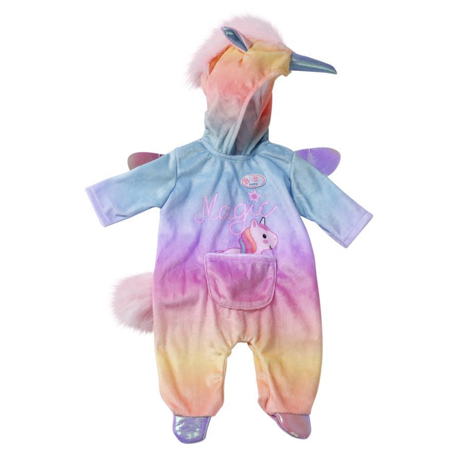 Zapf Creation BABY born® Kuschelanzug Einhorn, 43 cm