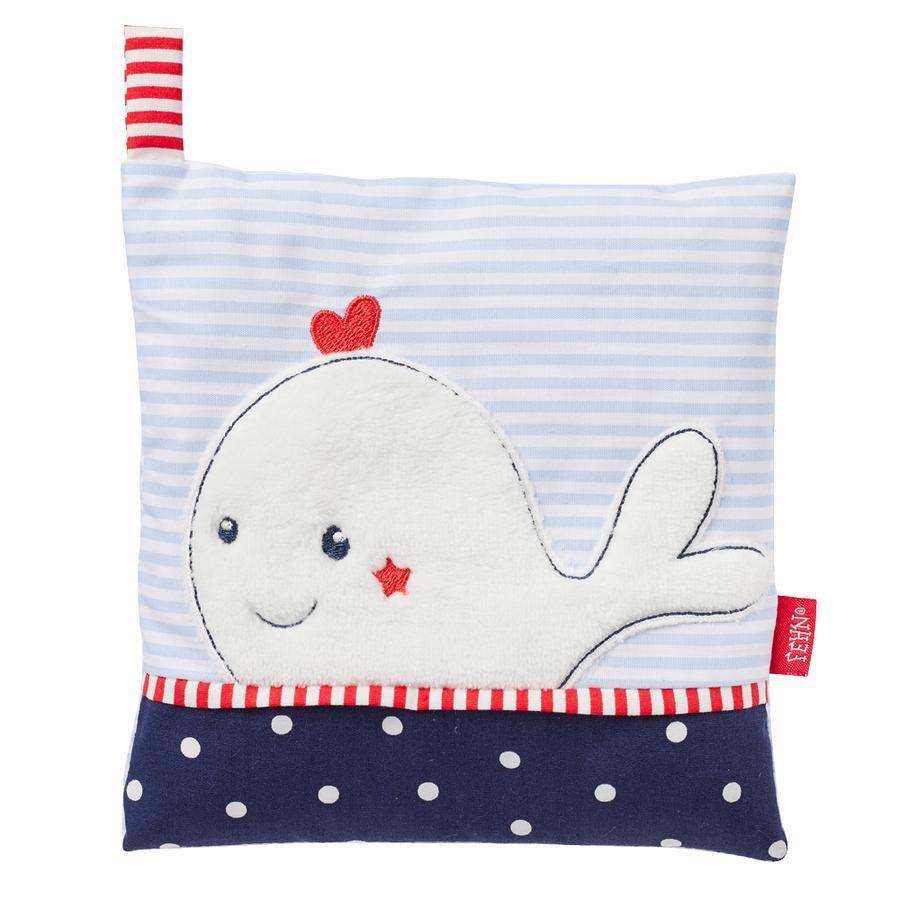 Babysun Coussin chauffant noyaux cerise baleine Ocean Club
