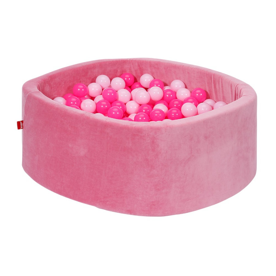 knorr® toys Bällebad soft - Soft pink inklusive 300 Bälle soft pink