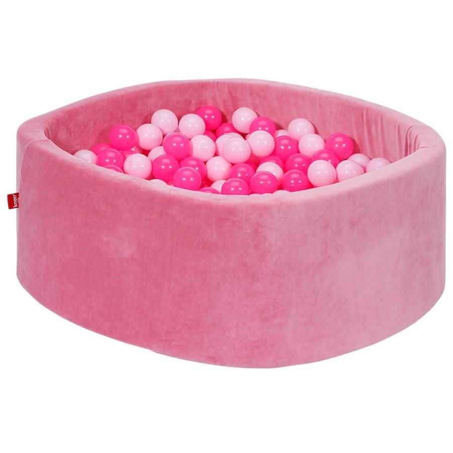 knorr® toys kuglebad blødt - Blødt lyserødt inklusive 300 kugler blødt lyserødt