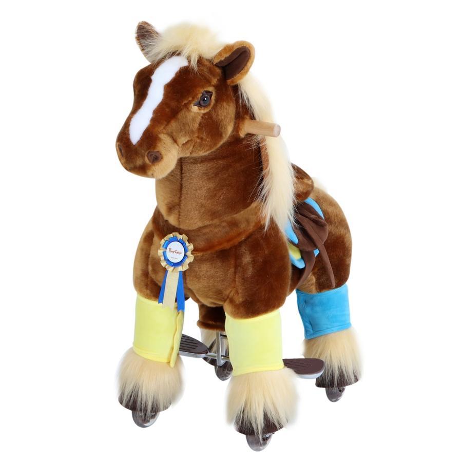 PonyCycle ® Brun hest, liten