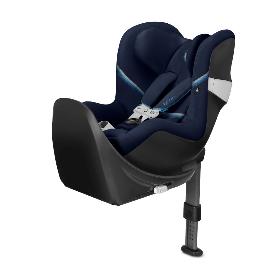 cybex GOLD Kindersitz Sirona M2 i-Size inklusive Sensorsafe mit Base M Navy Blue