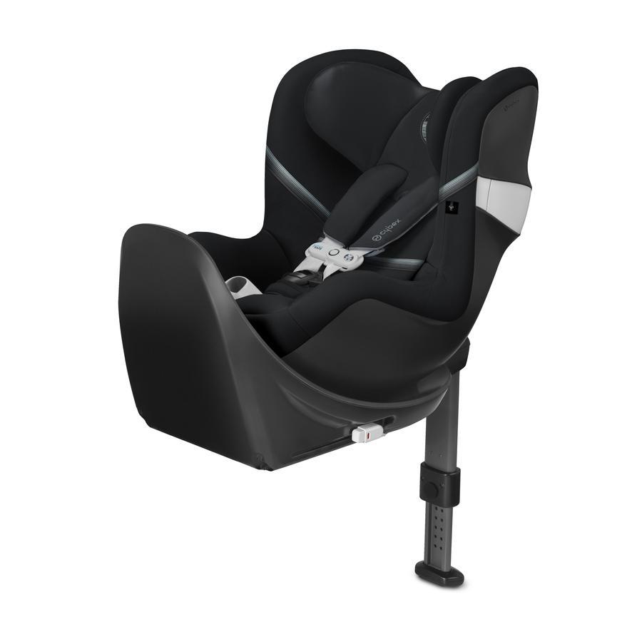 cybex GOLD Kindersitz Sirona M2 i-Size inklusive Sensorsafe mit Base M Deep Black