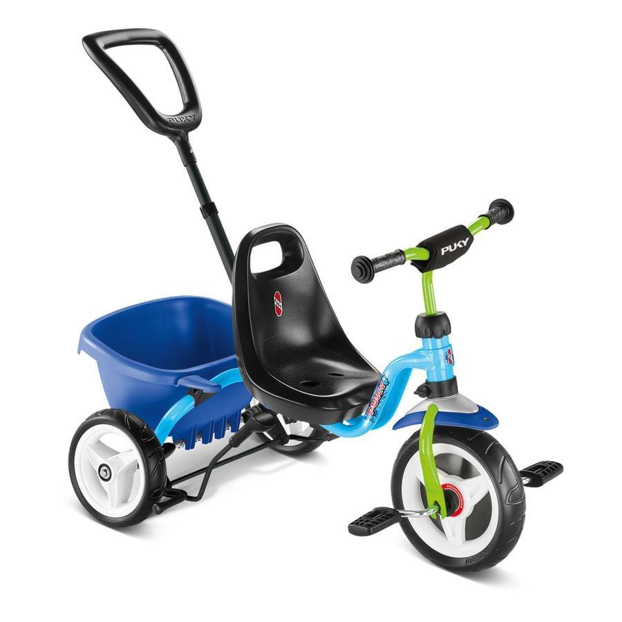 PUKY® Dreirad Ceety mit Komfortreifen, blau/kiwi 2218