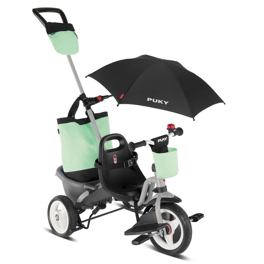 PUKY® Tricycle enfant évolutif Ceety Comfort 4en1, gris 2440