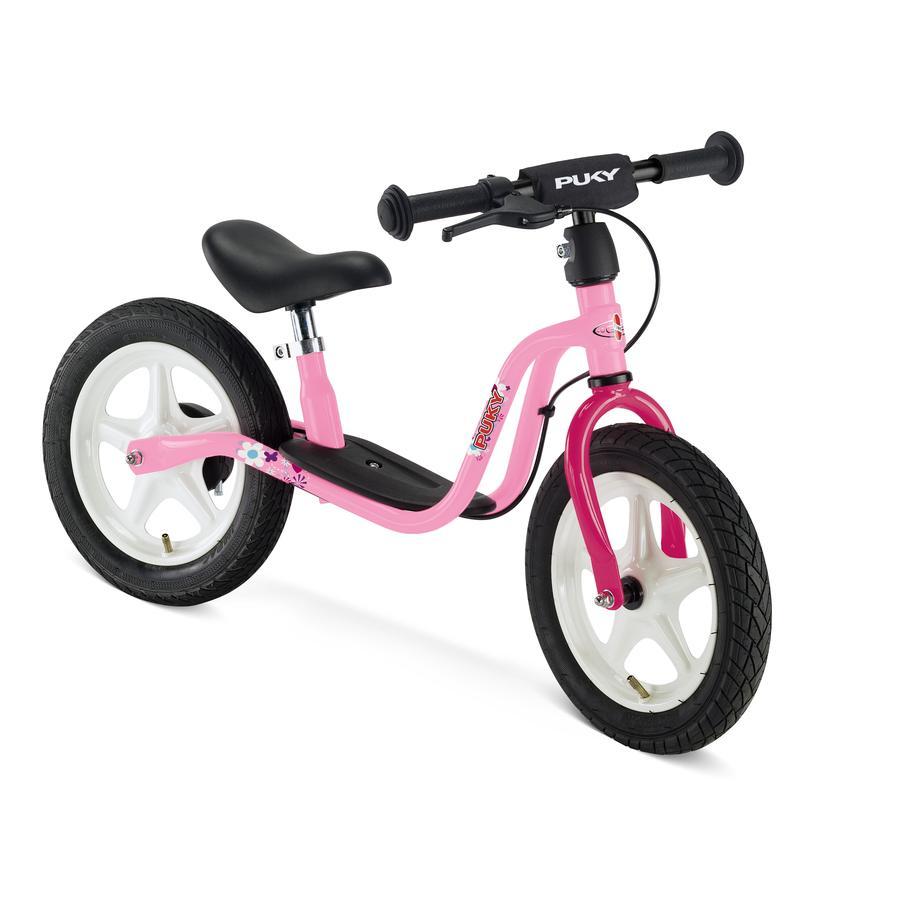 PUKY® Rowerek biegowy LR 1 z hamulcem, różowy 4065