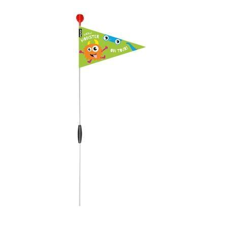 PUKY ® Bezpečnostní vlajka pro jízdní kola a skútry SW 3, kiwi 9224