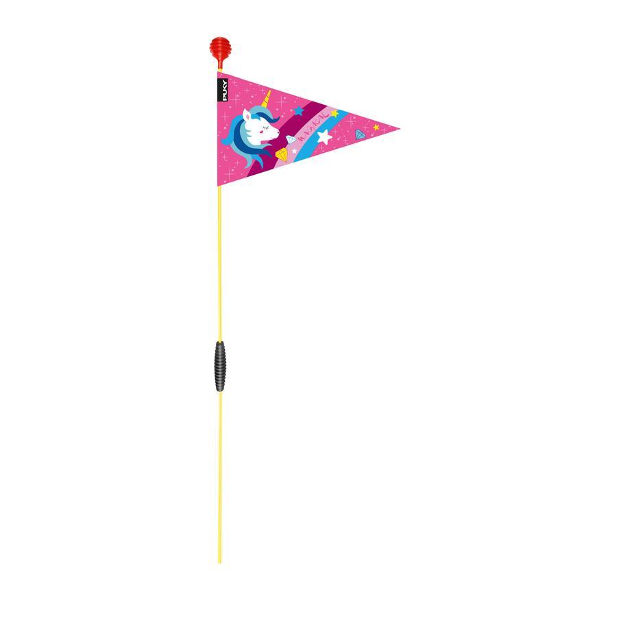 PUKY® Gagliardetto di sicurezza per biciclette e monopattini SW 3, pink 9226