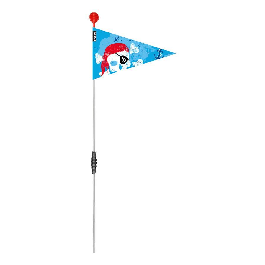 PUKY ® Bezpečnostní vlajka pro jízdní kola a skútry SW 3, modrá 9225