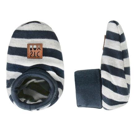 STACCATO  Chlapecké boty na plazení šedé vzorované