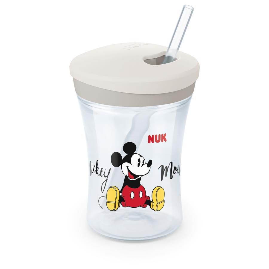 NUK Drinkber Action Cup 230 ml met rietje Disney Mickey