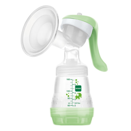 MAM Handmilchpumpe kompakt grün