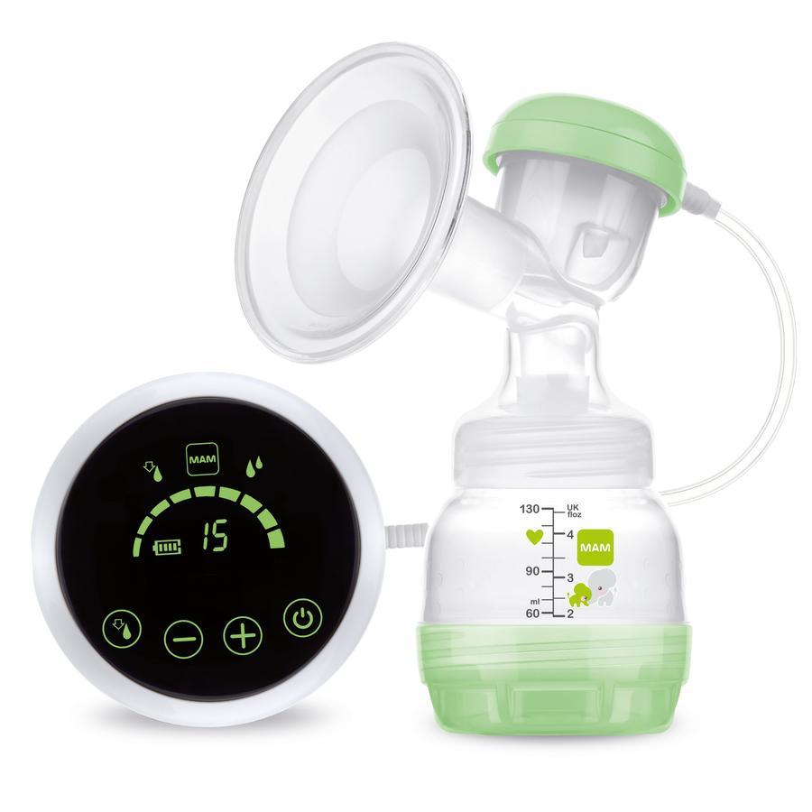MAM 2v1 Prsní pumpa zelená
