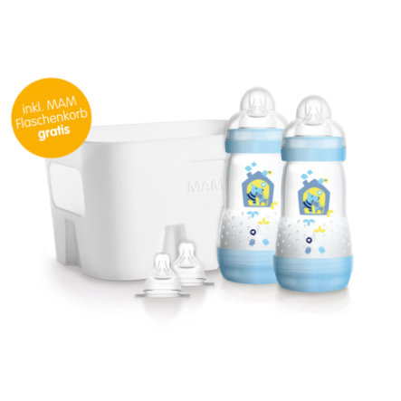 MAM Starterset Easy Start™ Anti-Colic blau