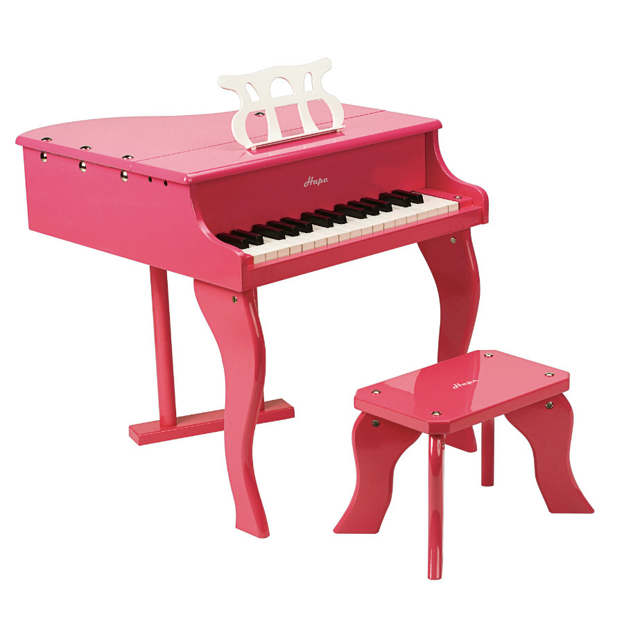 HAPE Piano à queue, rose