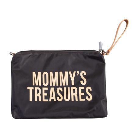 CHILDHOME Mommy Clutch schwarz/gold