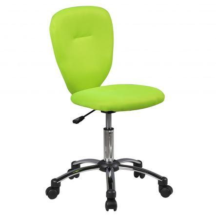 Amstyle® Chaise de bureau enfant Anna, vert