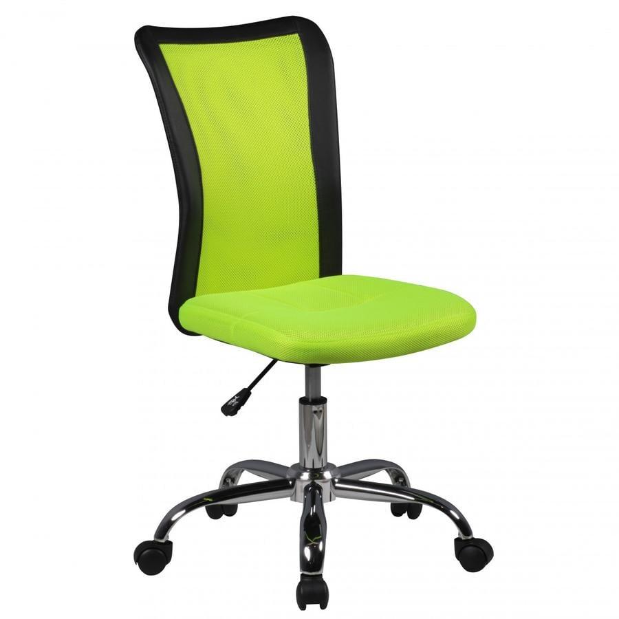 Am style  Silla de escritorio para niños Lukas, verde.
