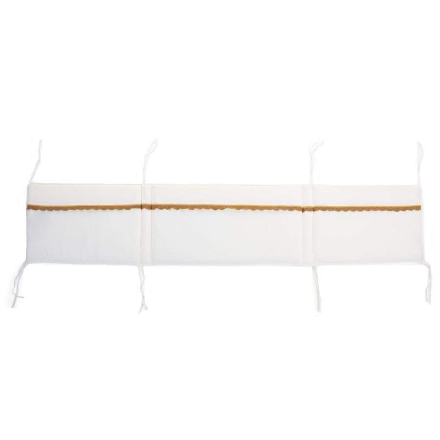 CHILDHOME Tour de lit enfant Crochet écru 170x35x2 cm
