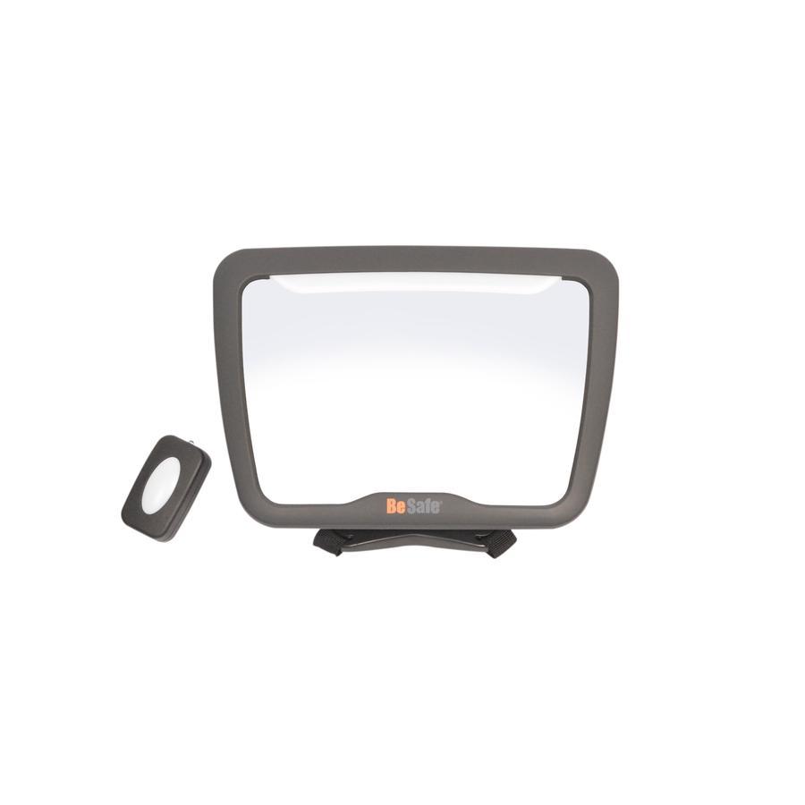 BeSafe Miroir voiture bébé XL2, LED, radiocommandé