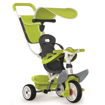 Smoby Tricycle évolutif enfant Baby Balade, vert