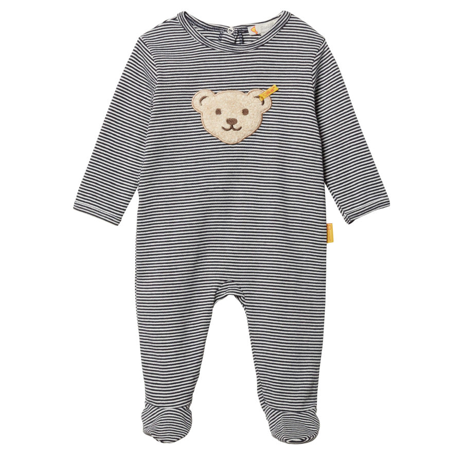 Steiff Boys-pyjamas, sort iris