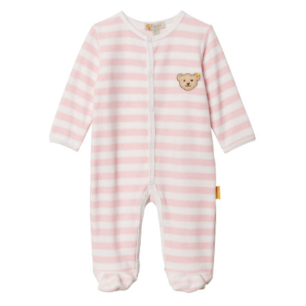 Steiff Girls Strampler Nicky barely pink