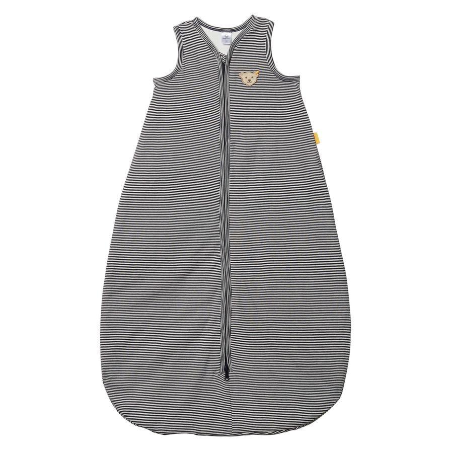 Steiff Boys sovepose, svart iris stripete