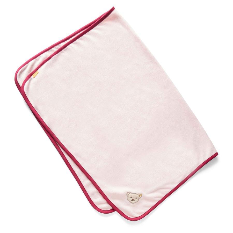 Steiff Girls Decke, barely pink