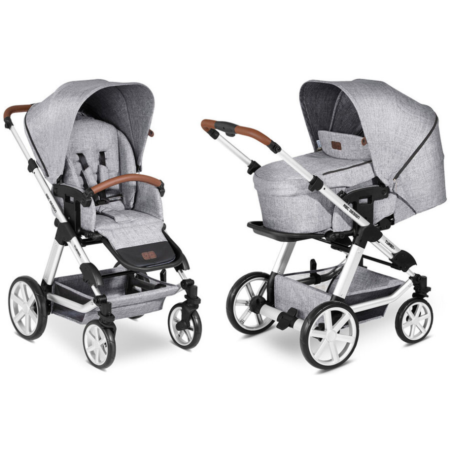 ABC DESIGN Kombikinderwagen Turbo 4 Graphite Grey