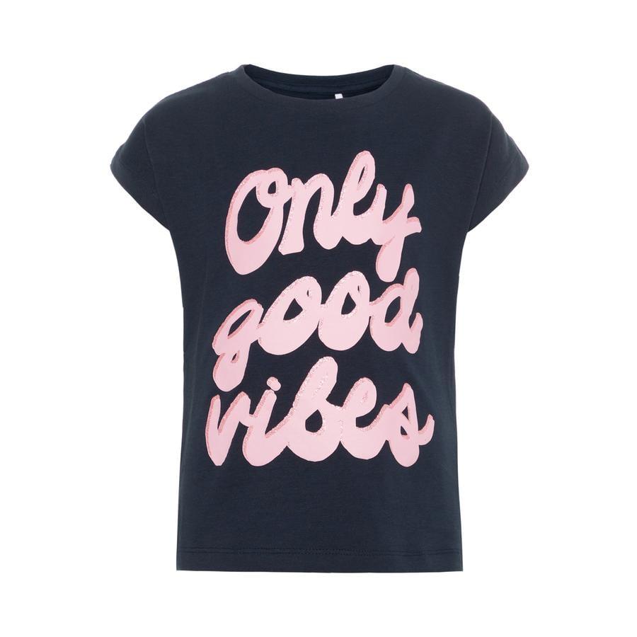 name it Girls T-Shirt Nmfkrelina dark sapphire