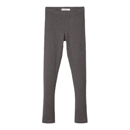 name it Girls Leggings Nitvivian dark grey melange
