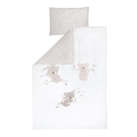 JULIUS ZÖLLNER Parure de lit enfant koalas/Star beige 100x135 cm