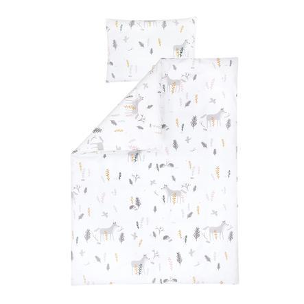 JULIUS biancheria da ZÖLLNER letto Sweet Forest 100x135 cm