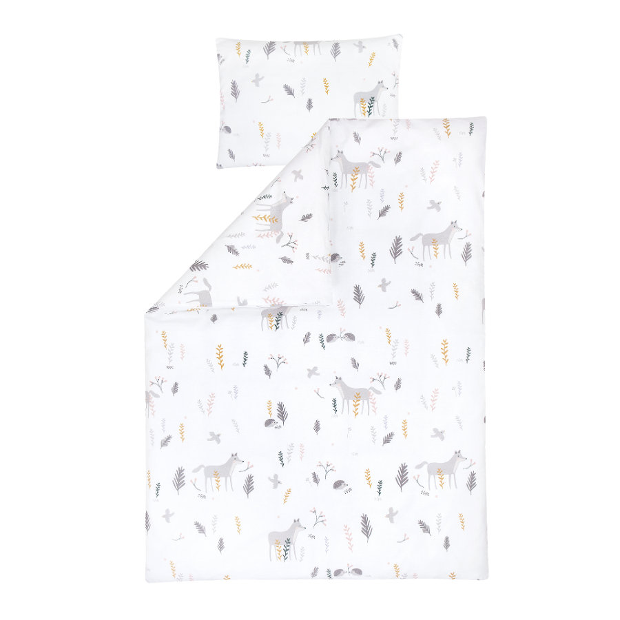 JULIUS ZÖLLNER Parure de lit enfant Sweet Forest 100x135 cm
