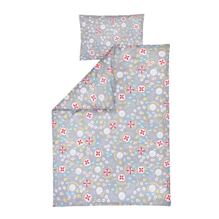 JULIUS ZÖLLNER sengetøj blomstermark 100x135 cm