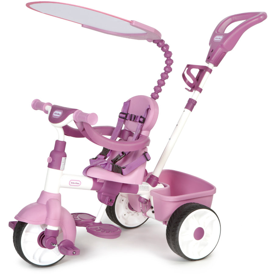 LITTLE TIKES 4-v-1 Trike Basic Edition - Pink