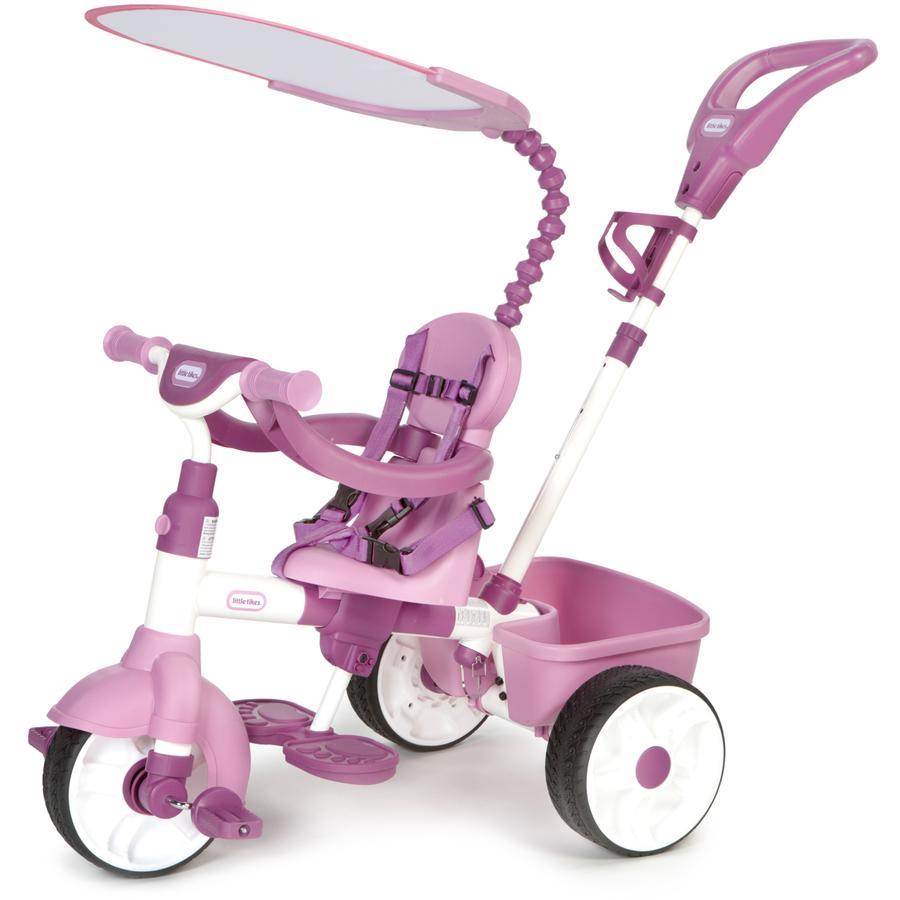 LITTLE TIKES Tricycle 4 en 1 Trike Basic Édition rose