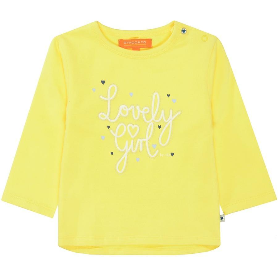 STACCATO Girls Sweatshirt soft yellow