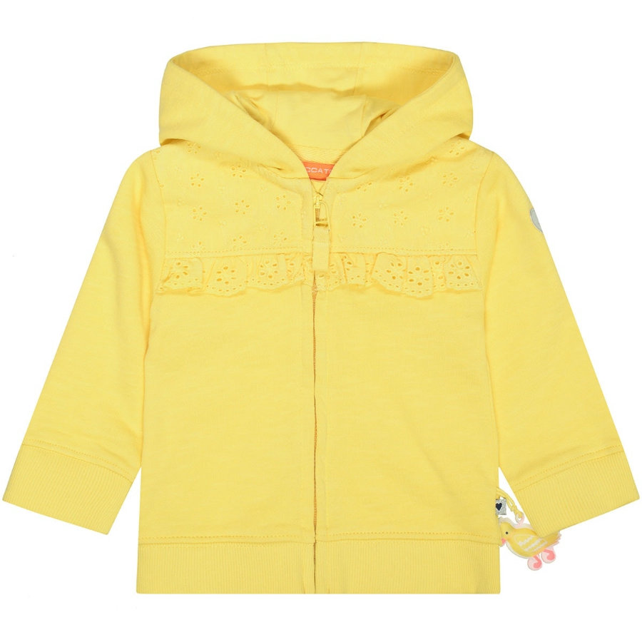 STACCATO Baby Girls Sweatjacke soft yellow