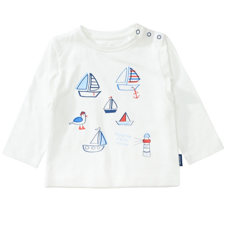 STACCATO Boys Langarmshirt offwhite