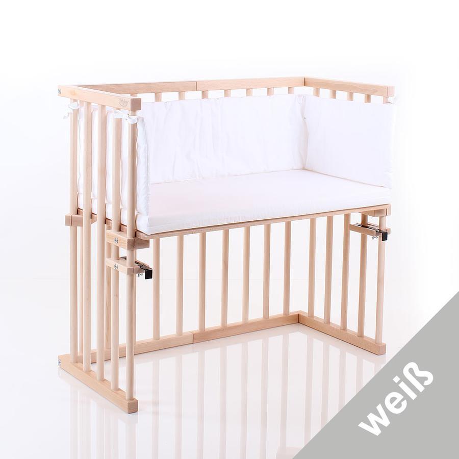 babybay Matelas, tour de lit pour lit cododo Midi, blanc